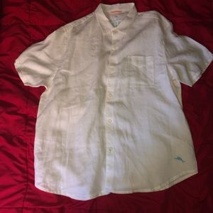 Men's Tommy Bahama Button Down Shirts Lot Of 2